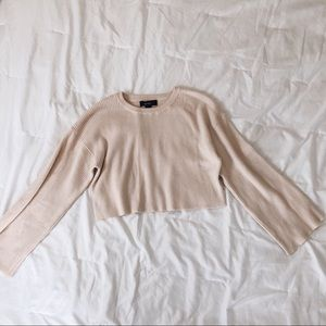 F21 ribbed knit crop top